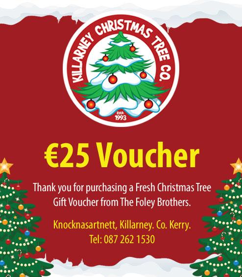 EUR25 Christmas Tree Voucher