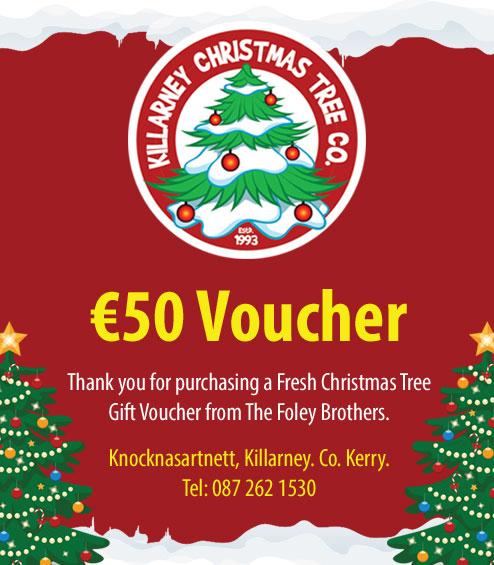 EUR50 Christmas Tree Voucher